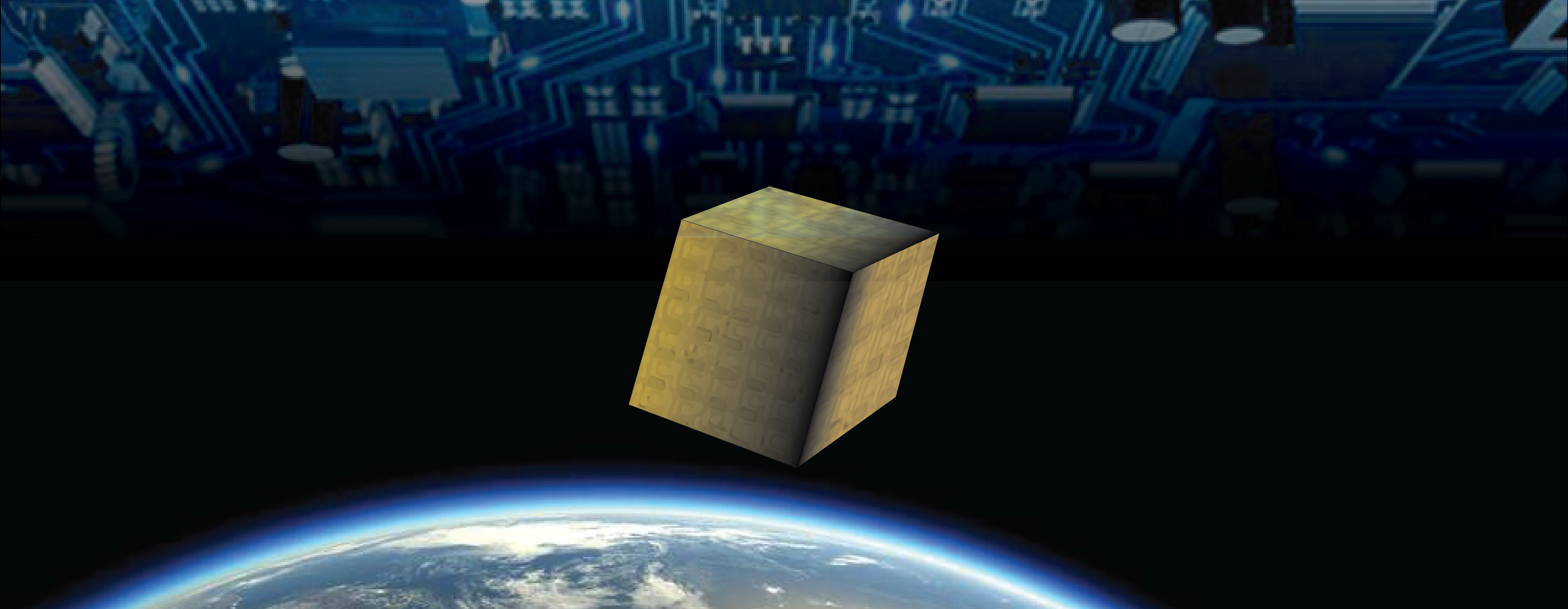 3D integrated systems-in-cube interfacing the real world to electronic devices